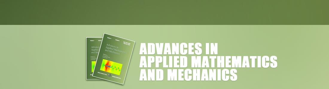 Advances in Applied Mathematics and Mechanics AAMM